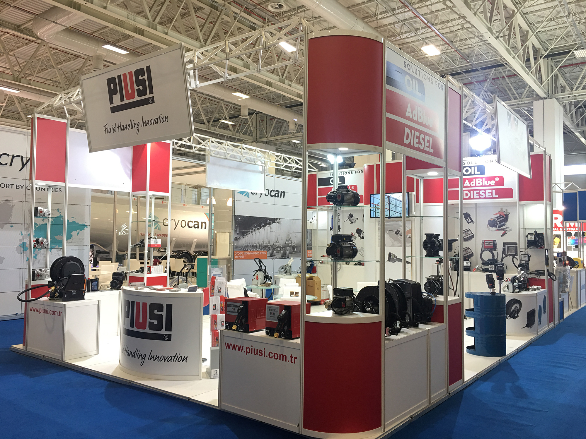 Petroleum Istanbul Uluslararası Petrol, LPG, Madeni Yağ, Ekipmanları ve Teknolojileri Fuarı