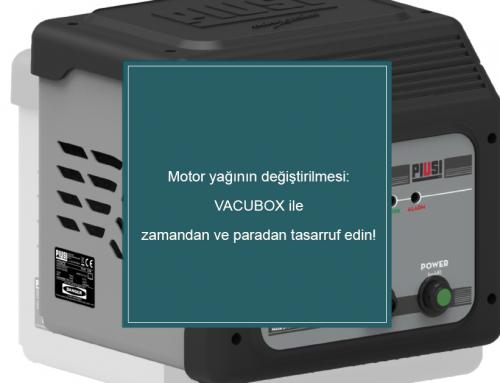 Motor yağının değiştirilmesi: VACUBOX ile zamandan ve paradan tasarruf edin!